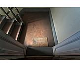 Doorway, Stairway, Mat