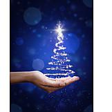 Christmas, Christmas tree, Magic