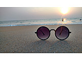 Beach, Sunglasses