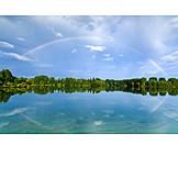 Lake, Rainbow